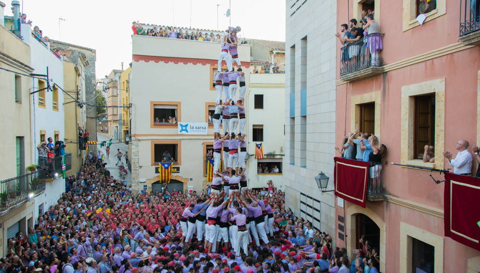 4de9f de la Colla Jove de Tarragona al Catllar.