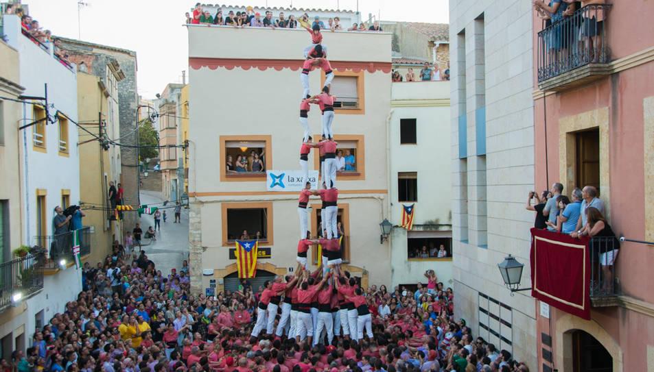 3de9f de la Colla Vella dels Xiquets de Valls al Catllar.