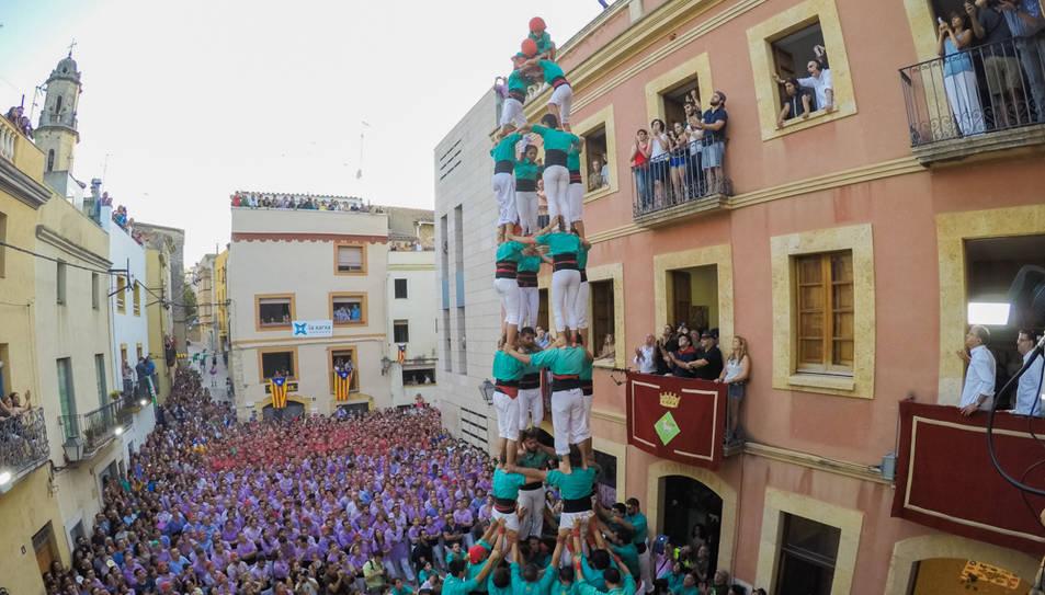 4de9f dels Castellers de Vilafranca al Catllar.