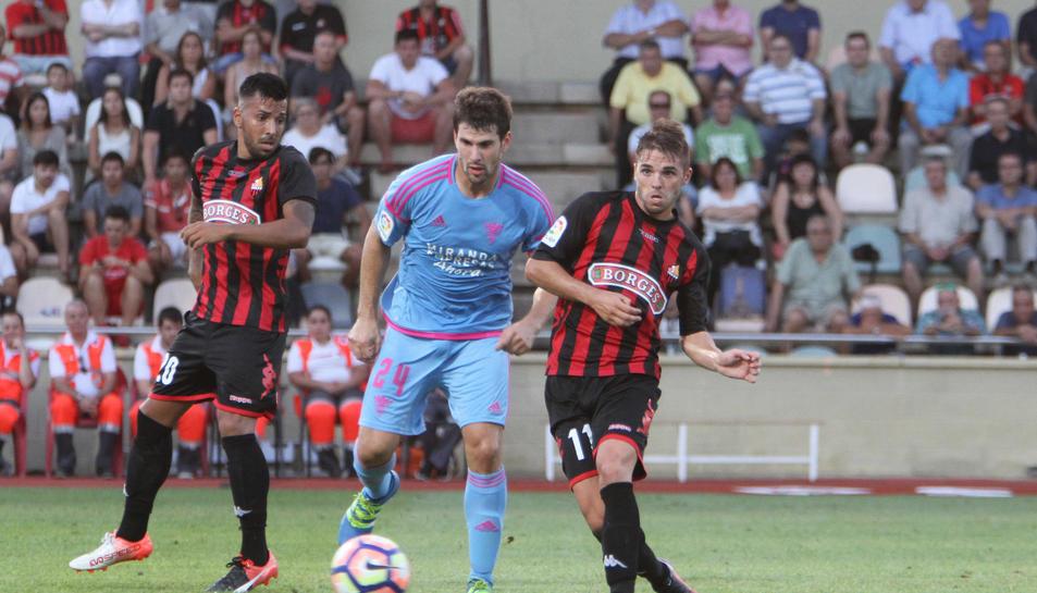 La 'mossegada' de Carbia i un dels gols més ràpids de la història del CF Reus