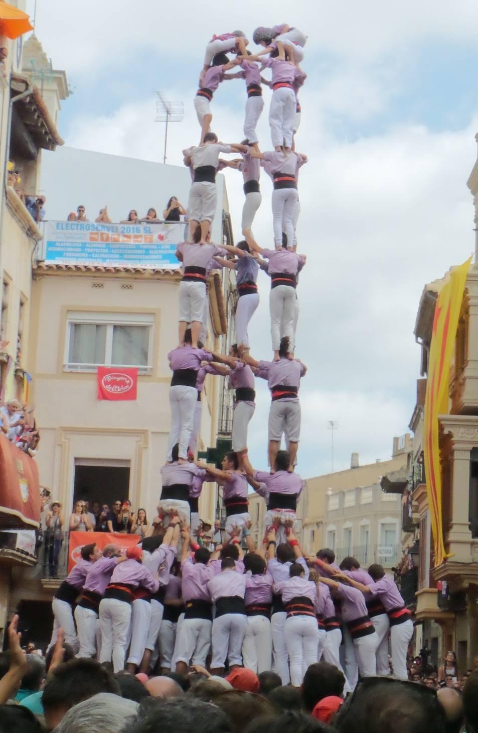 5de9f de la Colla Jove de Tarragona a l'Arboç.