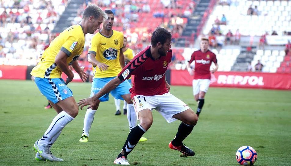 Álex López vol tornar a marcar, a Osca.