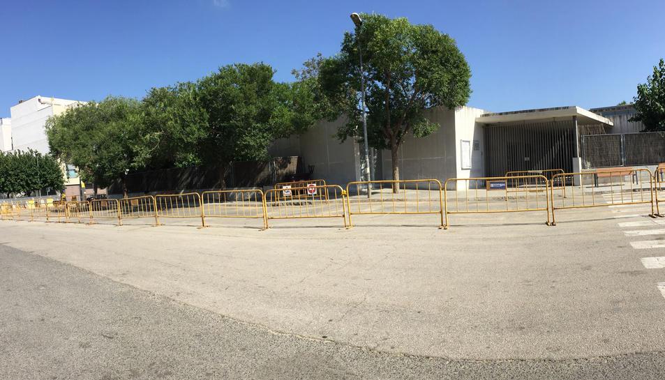 El Morell amplia i millora la zona d'accés a l'escola
