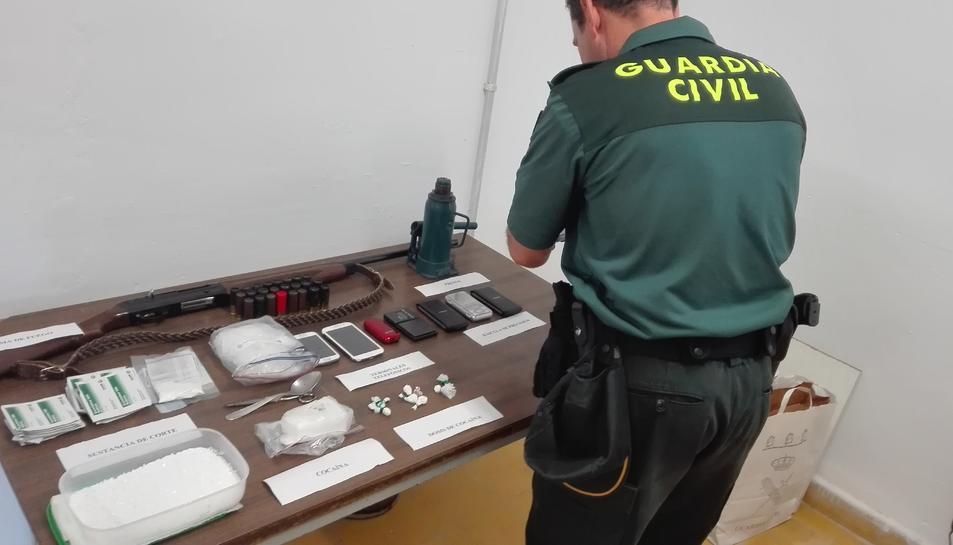 Quatre detinguts d'una xarxa de distribució de cocaïna a Sant Carles de la Ràpita