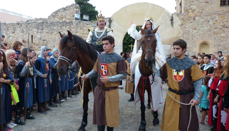 Salou torna a l'edat medieval en la XXI edició de la Festa del rei Jaume I