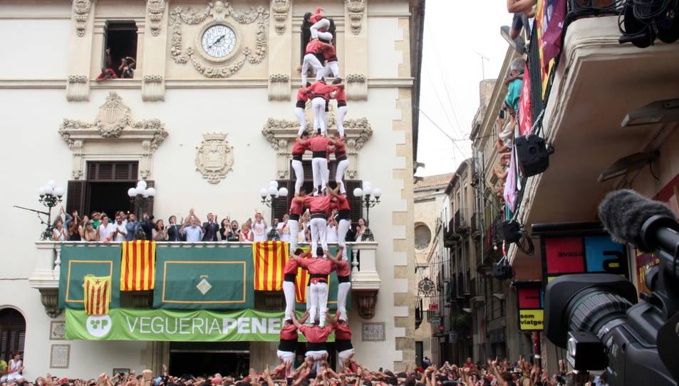 4de9 sense folre de la Colla Vella de Valls per Sant Fèlix.