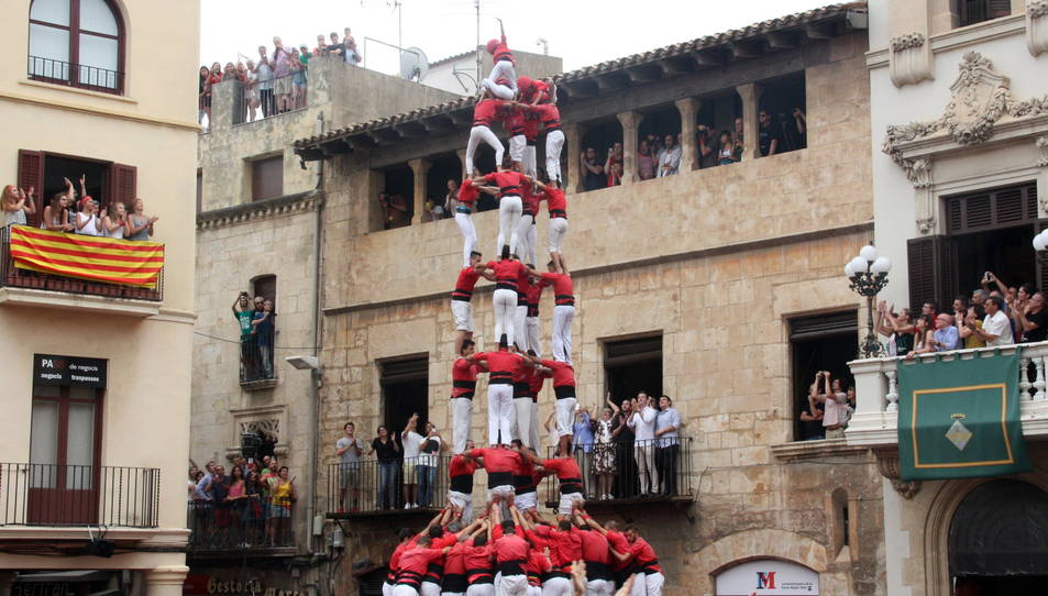 5de9f de la Colla Joves de Valls per Sant Fèlix.