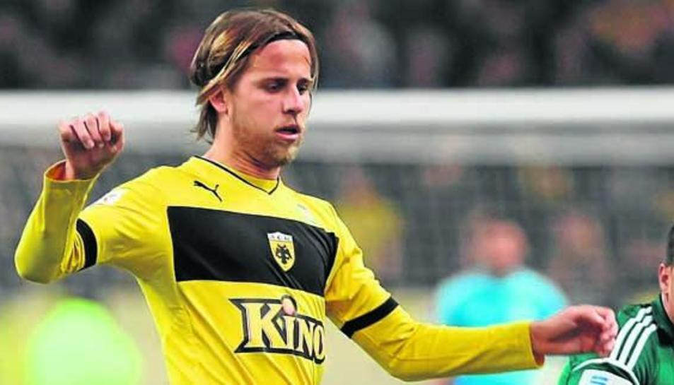 Imatge d'arxiu del jugador Miguel Ángel Cordero.