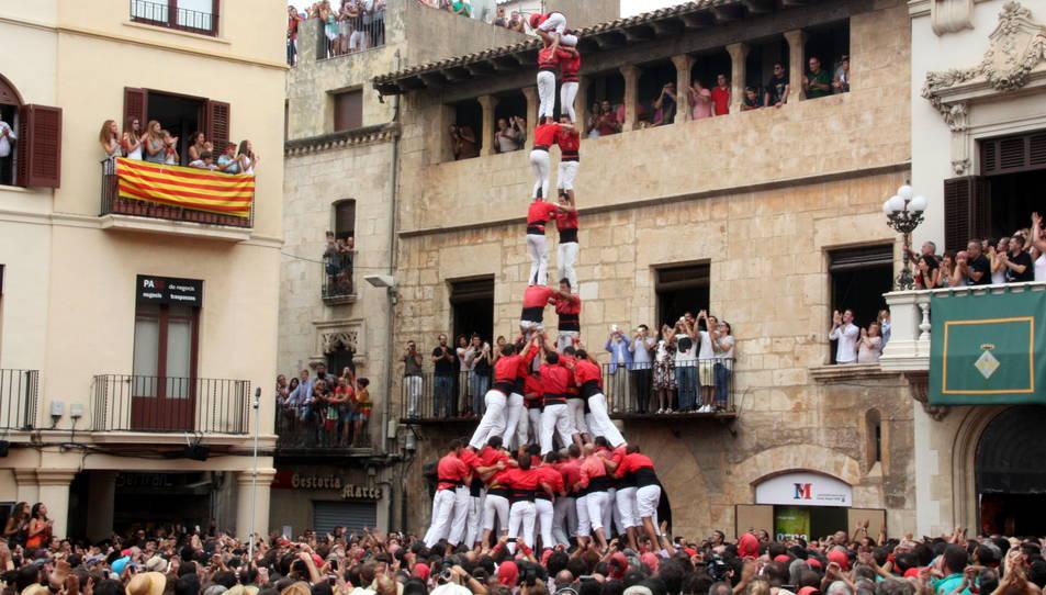 2de9fm de la Colla Joves de Valls per Sant Fèlix.