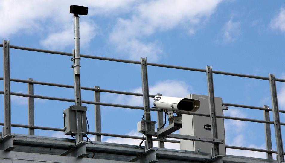 Instal·laran un nou radar per tram a l'A-7 a Tarragona
