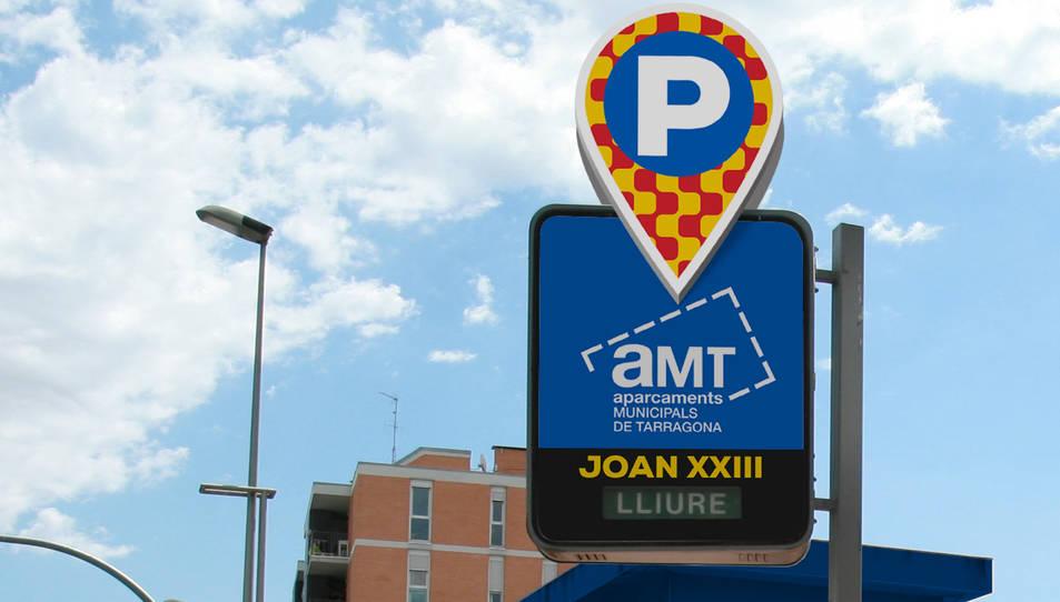 Nova imatge pels aparcaments municipals de Tarragona