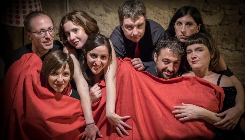 Imatge promocional de l'espectacle teatral.