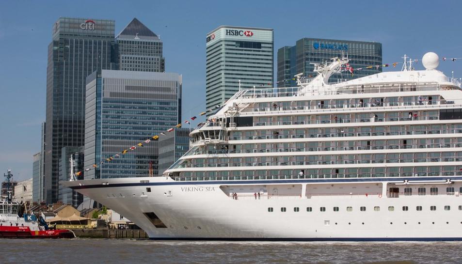 Imatge del vaixell Viking Sea.