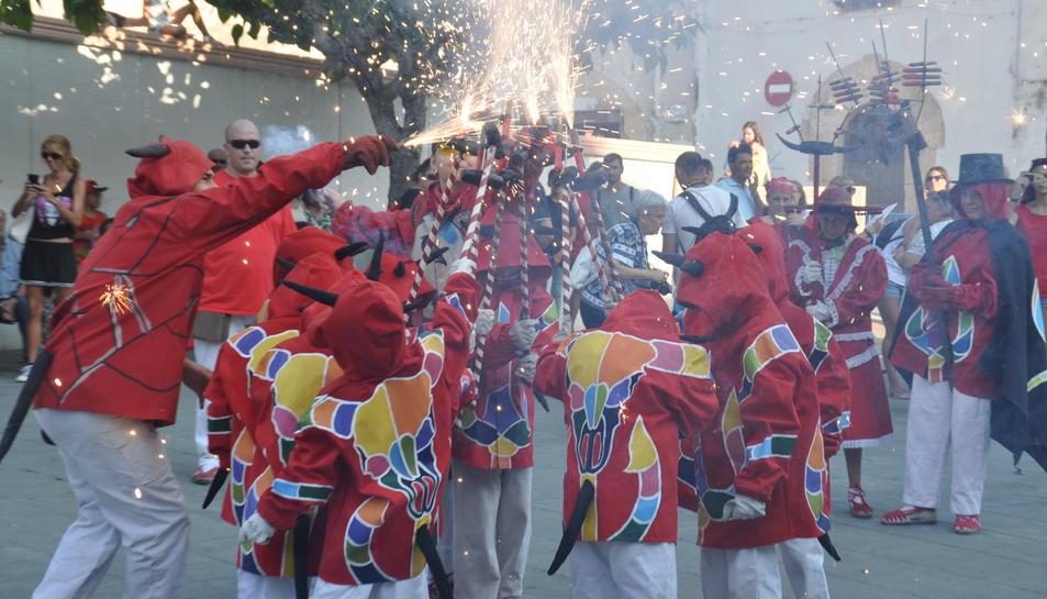 Torredembarra ret homenatge a Santa Rosalia