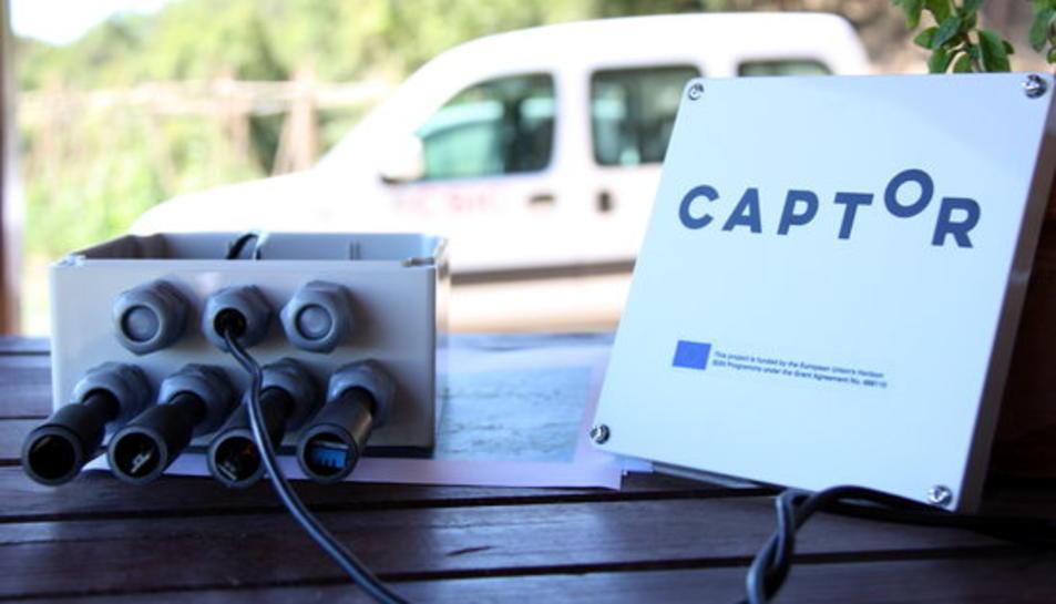 Els captadors mesuren els nivells d'immissió de l'ozó