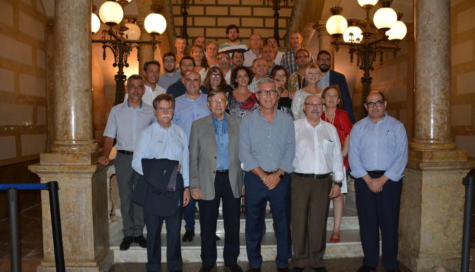 Primera trobada d'alcaldes de la Ruta Maginiana