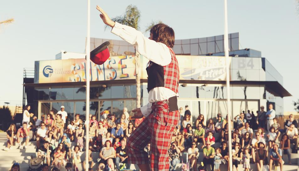 El Port Tarraco Sunset Festival ha acogido distintas actividades al aire libre