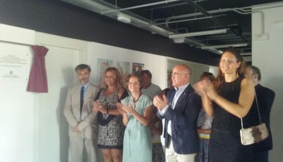 Una imatge del moment de la inauguració