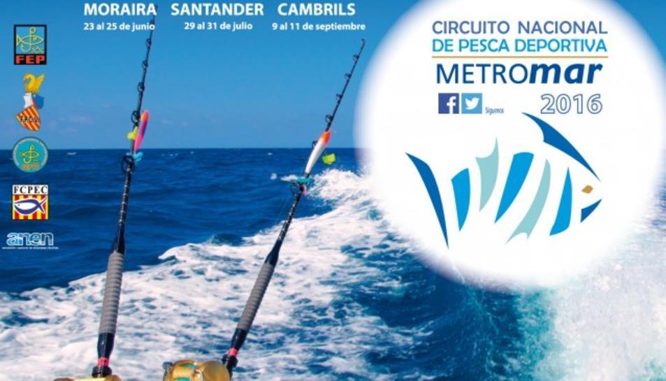 La copa de Catalunya de pesca esportiva es decidirà a Cambrils