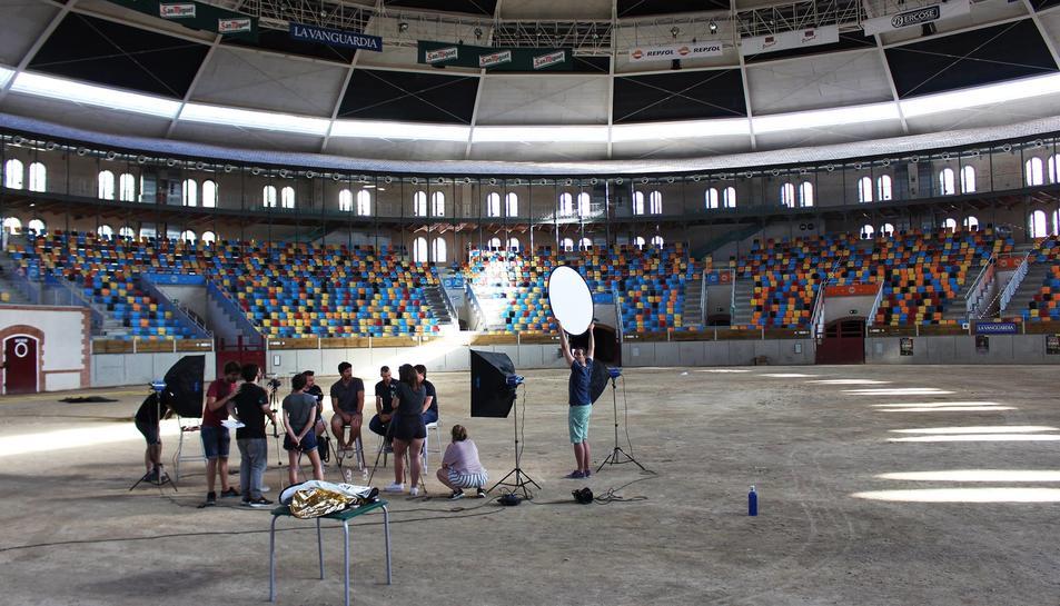 Una part del documental ha estat rodat a les instal·lacions de la Tarraco Arena Plaça.