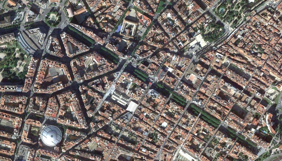 El tram de Tarragona omplirà la Rambla Nova.