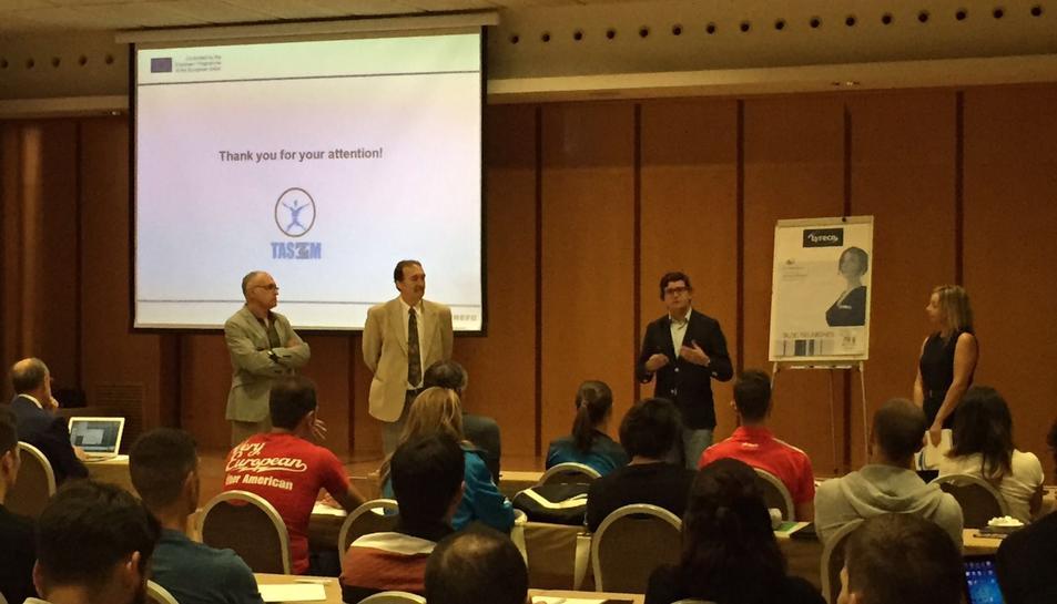 Imatge de la sessió inaugural del programa formatiu TASEM