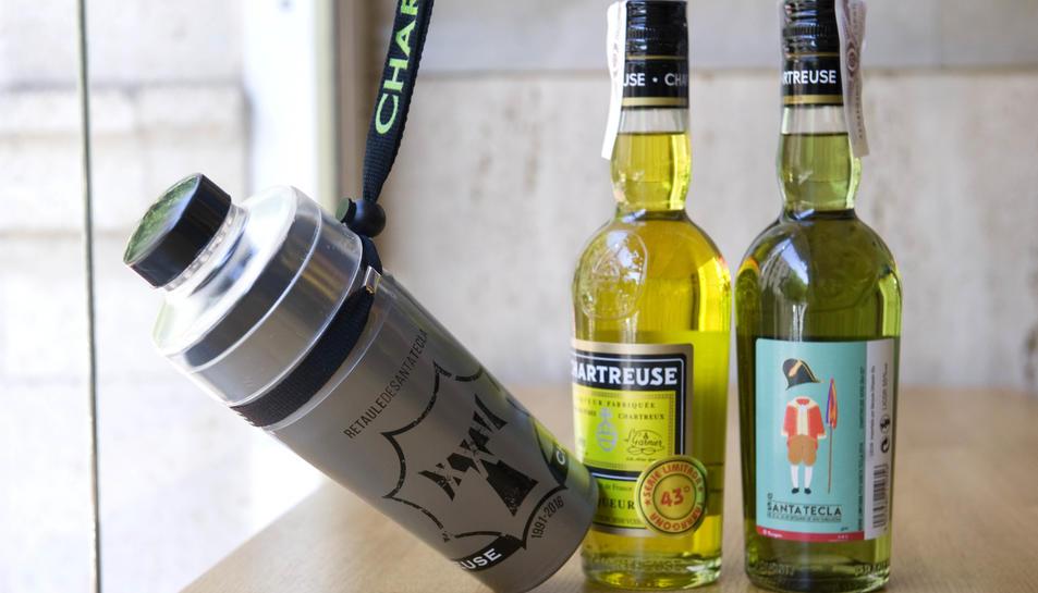 El Chartreuse, beguda oficial de Santa Tecla