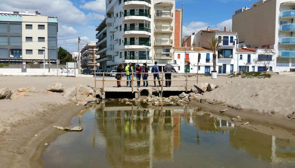 Calafell vol solucionar els problemes d'inundacions que pateix.
