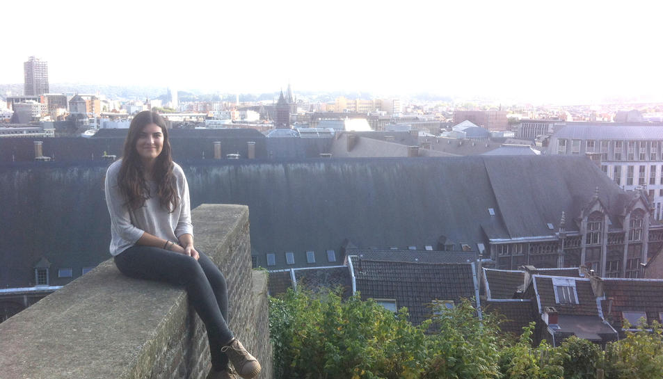 La jove de 23 anys prop d'un indret conegut com Coteaux de la Citadelle.