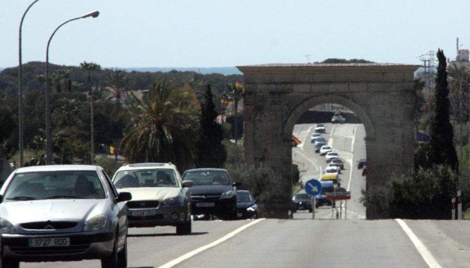 L'accident ha tingut lloc a prop de l'Arc de Barà.