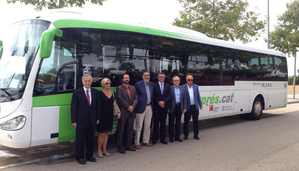 El bus exprés.cat Tarragona-Vila-seca-Salou es posa en marxa el 12 de setembre
