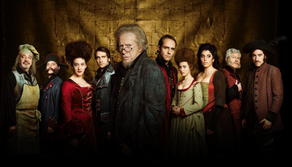 Imatge promocional de l'espectacle L'Avar.