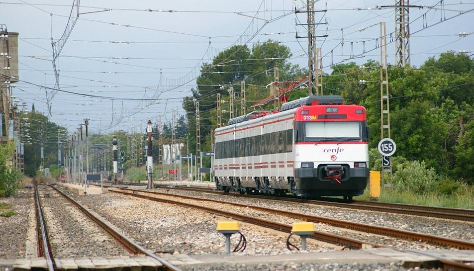 Adif preveu normalitzar la circulació de trens, afectada des de fa tres mesos