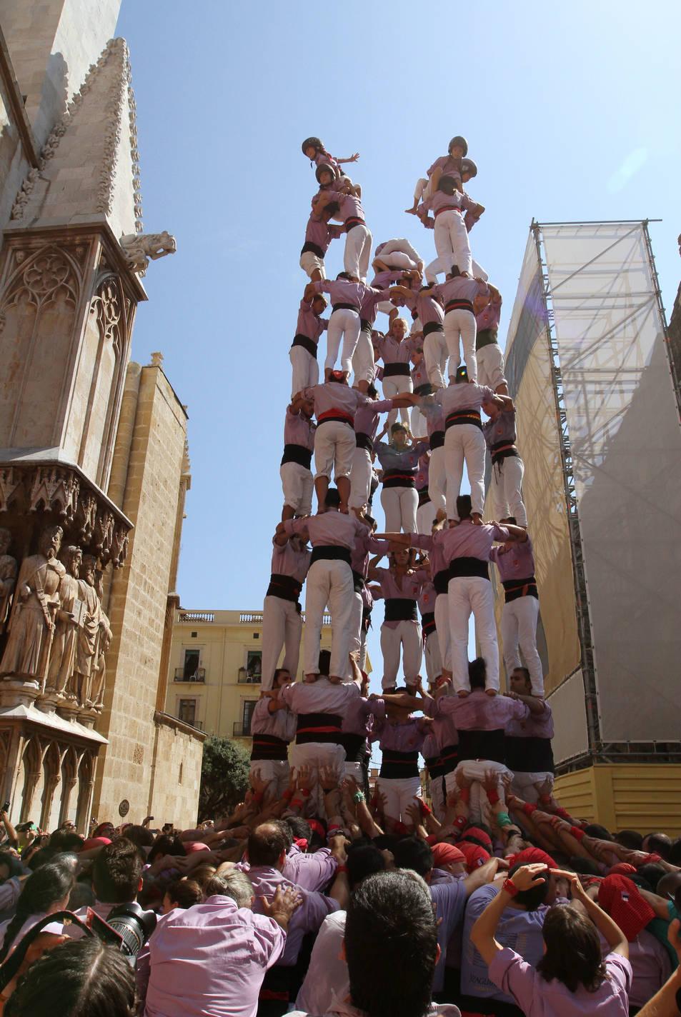 9de8 de la Colla Jove de Tarragona a la diada de l'Onze de Setembre