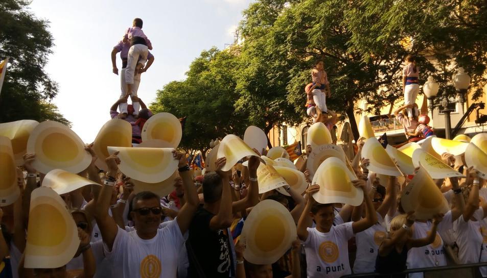 La Diada mobilitza 110.000 persones a Tarragona