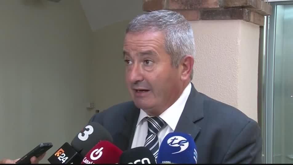Imatge d'arxiu del ja ex alcalde d'Arnes, Xavier Pallarès.