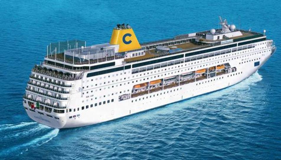 Costa Cruceros ofereix un nou creuer per la MEditerrània amb Tarragona com a punt de partida.