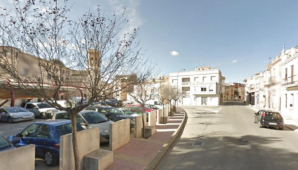 La pedania de Jesús, a Tortosa, on van succeir els fets.