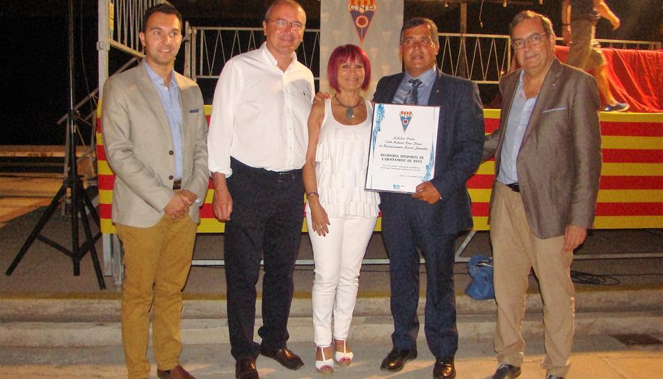 El CN Reus Ploms reconeix el suport de la regidoria d'Esports