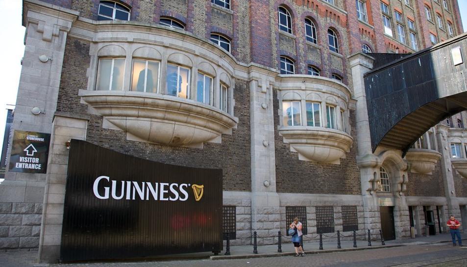 Exterior del Guinness Storehoure de Bublín.