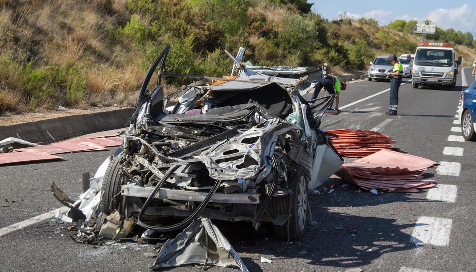 El passat dimecres va tenir lloc un accident mortal a Altafulla.