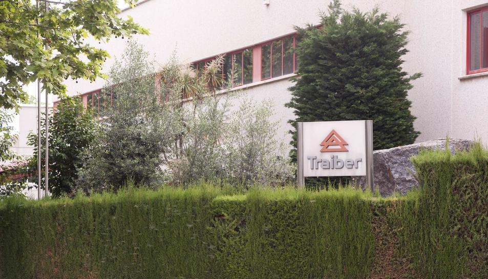 Una imatge d'arxiu de la façana de Traiber, al polígon Mas de les Ànimes de Reus.