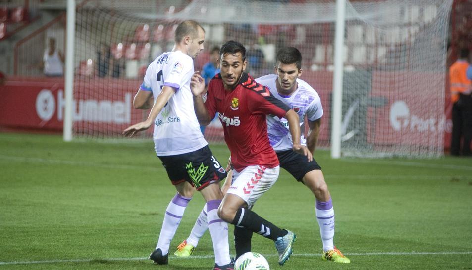 Elvir Maloku ja va jugar contra el Numància en Copa i podria repetir contra el sorians aquest dissabte en Lliga.