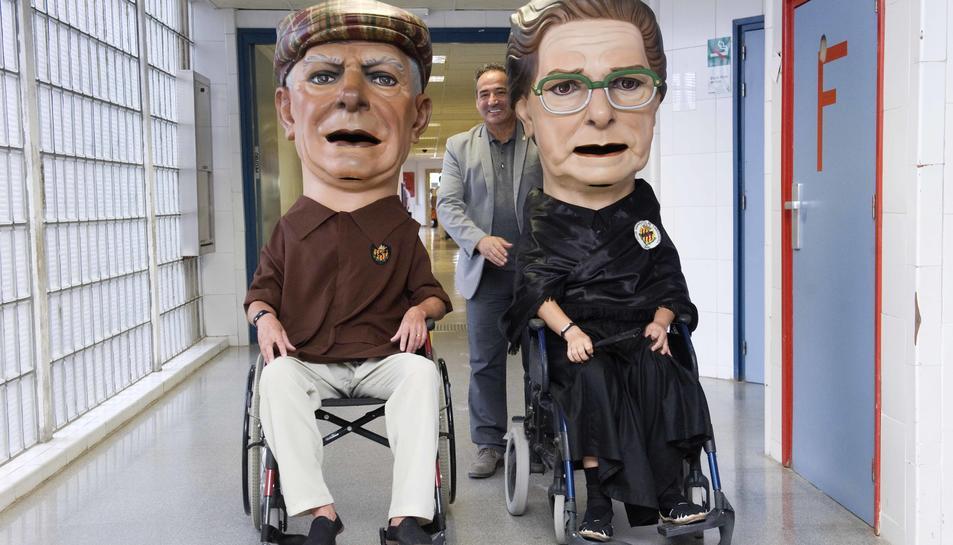 Els Nanos del Nàstic han visitat l'Hospital Joan XXIII.