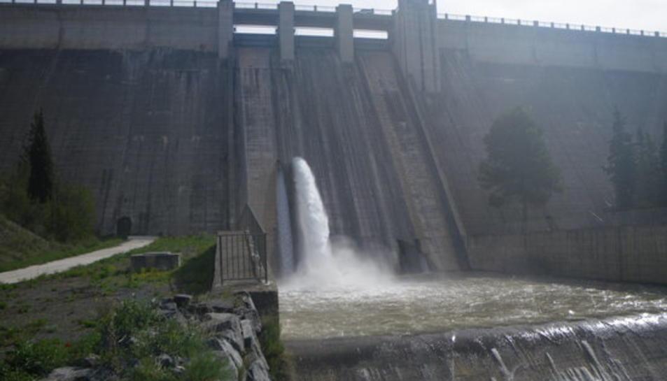 L'ACA licita la redacció del projecte per optimizar l'alliberació d'aigua des de la presa de Siurana