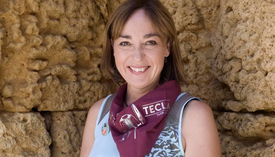 La Tinent d'Alcalde de l'Ajuntament de Tarragona, Begoña Floria.