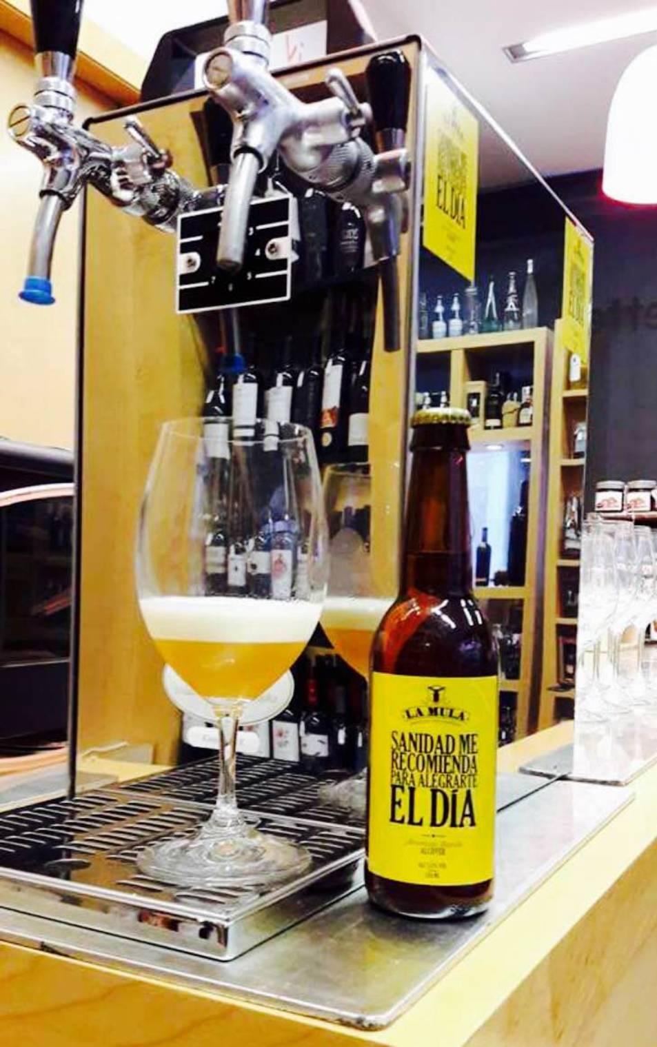 Alcover amplia la seva oferta cervesera amb 'La Mula'
