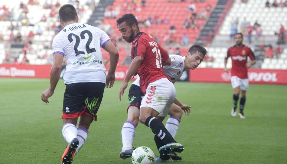 Maloku ja va jugar contra el Numància en Copa.