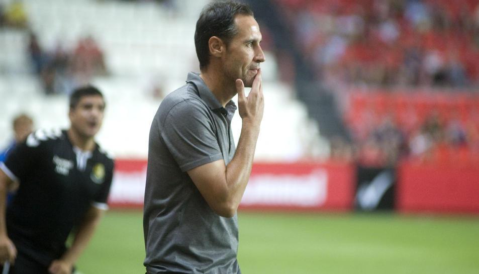 Vicente Moreno, donant instruccions.