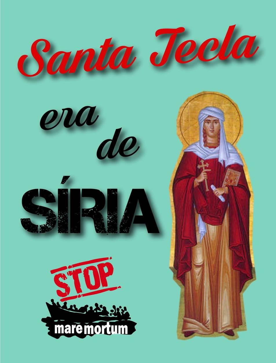 Santa Tecla reivindicativa
